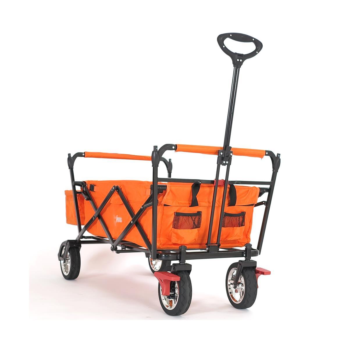 fuxtec bollerwagen ct 500or mit sonnendach 2 bollerwagen. Black Bedroom Furniture Sets. Home Design Ideas